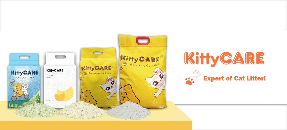KittyCARE tofu cat litter