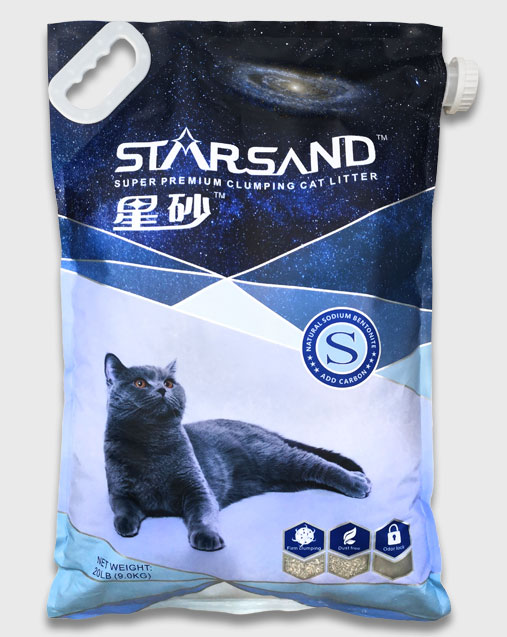 Sodium-based Cat Litter
